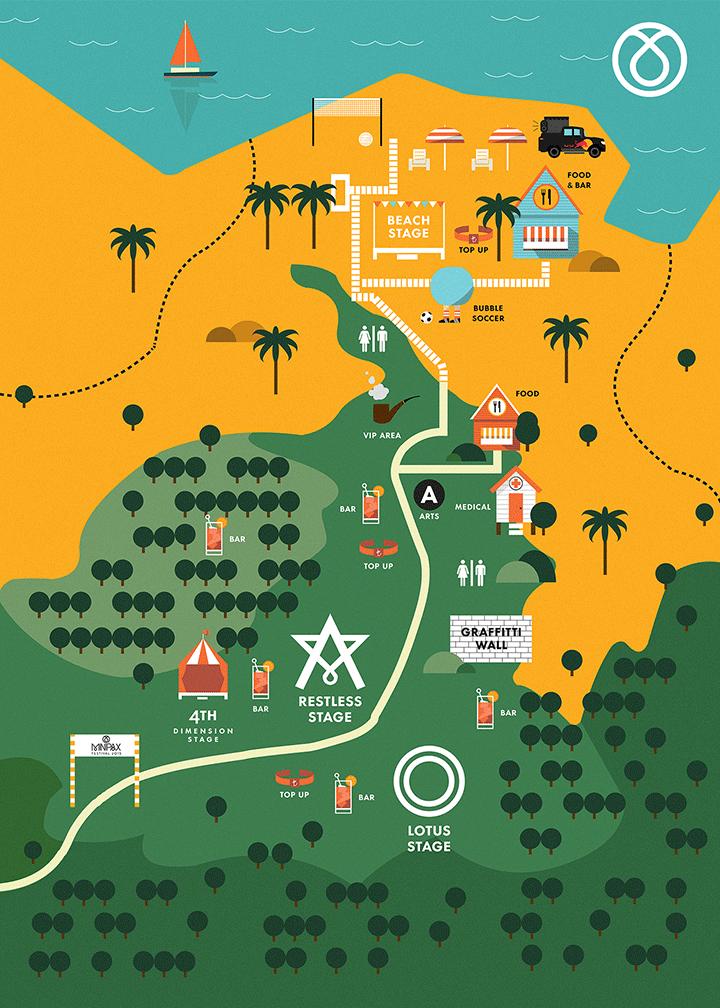 Minipax Festival Map