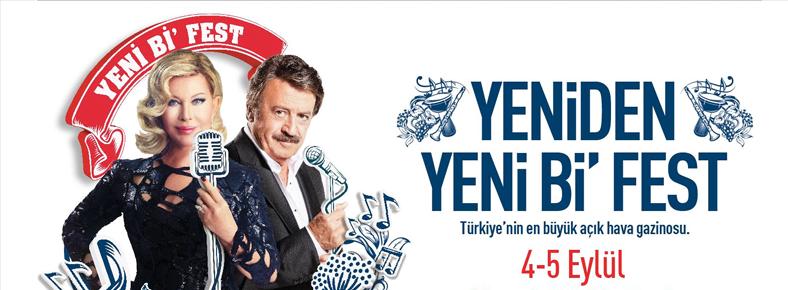 4-5 Eylül 2015  Yeni Bi' Fest @ Küçükçiftlik Park