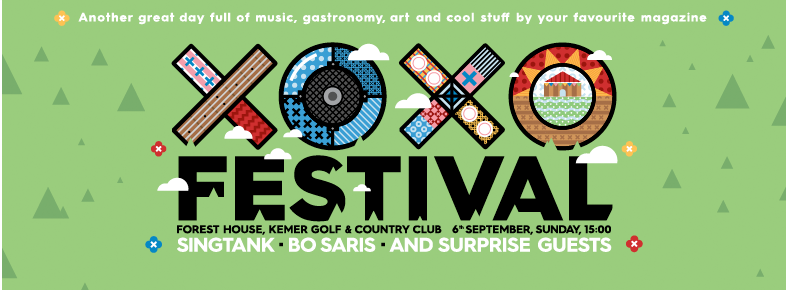 6 Eylül 2015 Pazar 15:00 XOXO Festival @ Kemer Golf & Country Club