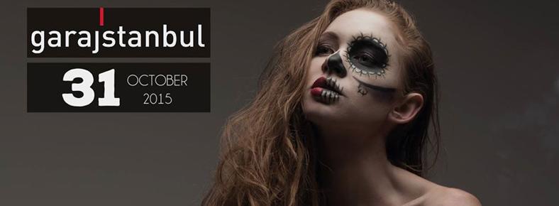 31 Ocak 2015 Cumartesi 21:00 Halloween Carnival @ garajistanbul