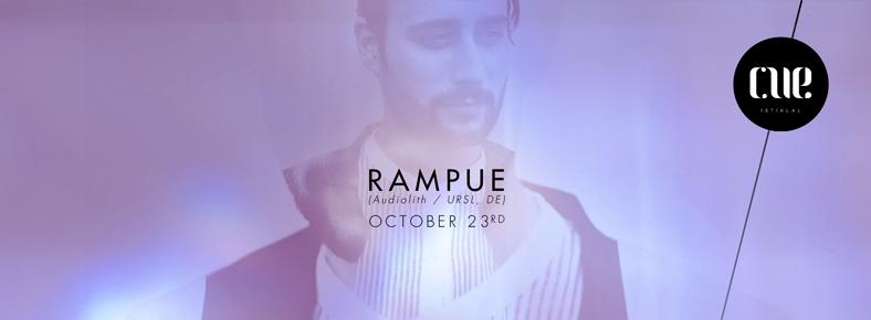 23 Ekim 2015 Cuma 22:00 Rampue @ CUE Istiklal