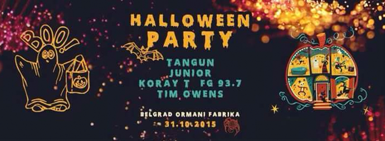 31 Ocak 2015 Cumartesi 22:00 Three Monkey Presents: Halloween