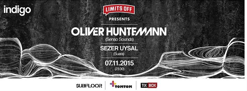 BONUS 7 Kasım 2015 Cuma 23:30 Oliver Huntemann @ indigo