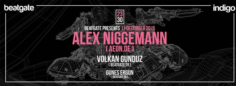 11 Aralık 2015 Cuma 23:30 Alex Niggemann @ indigo