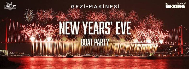 31 Aralık 2015 Perşembe 22:00 Happy New Year Eve Boat Party