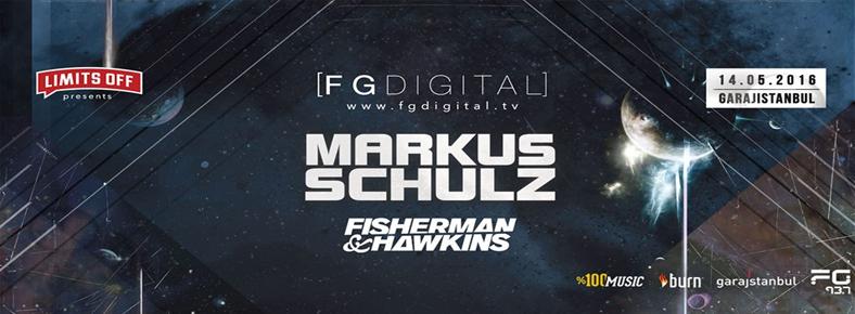 14 Mayıs 2016 Cumartesi 22:00 Markus Schulz @ garajistanbul
