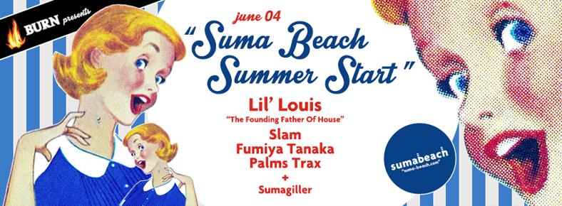 4 Haziran 2016 Cumartesi 22:00 Summer Start! @ Suma Beach