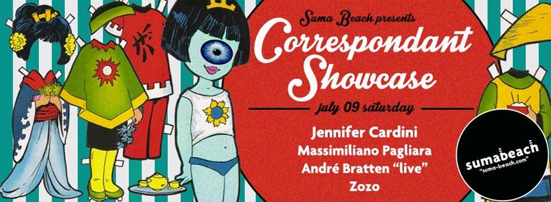 BONUS 9 Temmuz 2016 Cumartesi 22:00 Correspondant Showcase @ Suma Beach