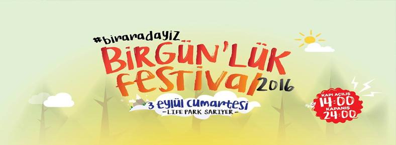 3 Eylül 2016 Cumartesi 14:00 BirGün'lük Festival 2016 @ Lifepark