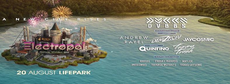 BONUS 20 Ağustos 2016 Cumartesi 14:00 Electropol Festival Istanbul 2016 @ Maslak Arena