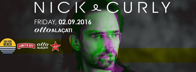 2 Eylül 2016 Cuma 23:00 Nick Curly @ ottoALAÇATI