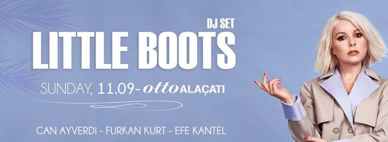 11 Eylül 2016 Pazar 22:00 Little Boots @ ottoALAÇATI