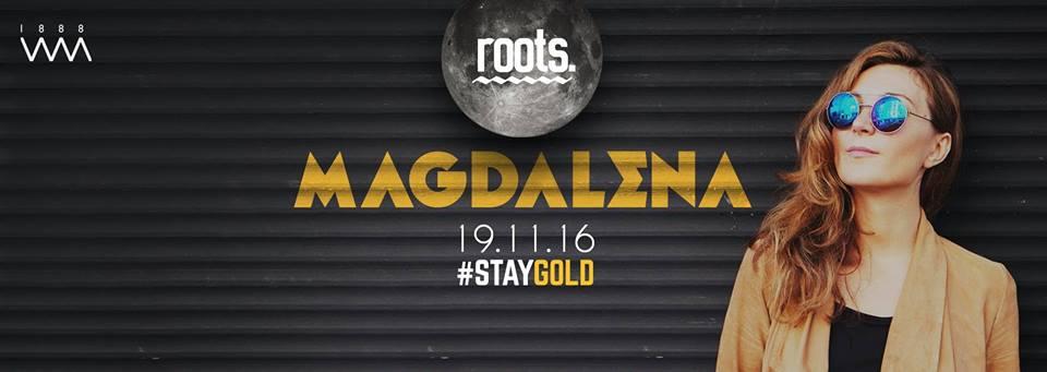 19 Kasım 2016 Cumartesi 22:00 Magdalena @ 1888