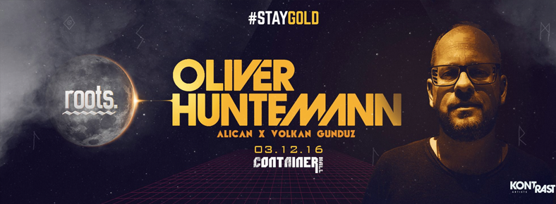 3 Aralık 2016 Cumartesi 22:00 Oliver Huntemann @ Container Hall