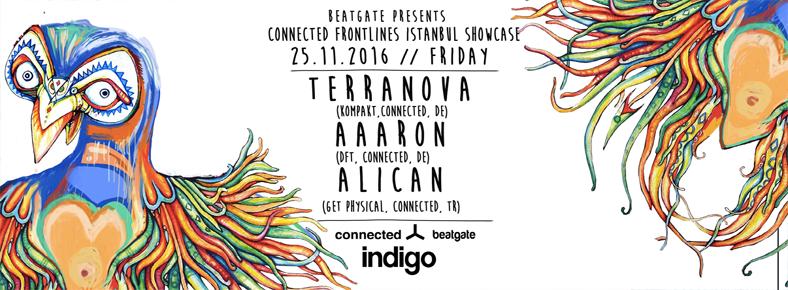 25 Kasım 2016 Cuma 23:30 Terranova @ indigo